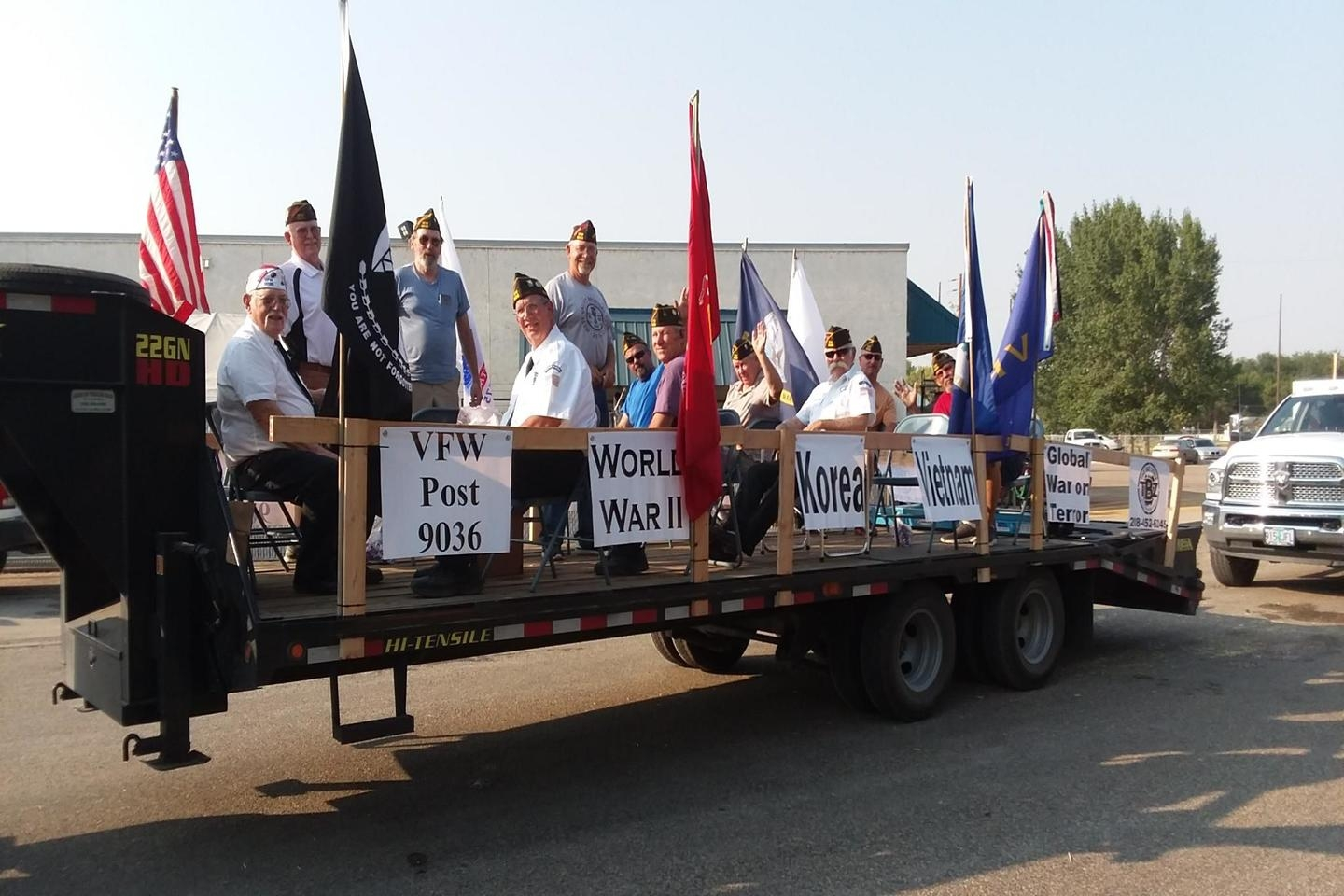 VFW Float 2018 Payette County Fair