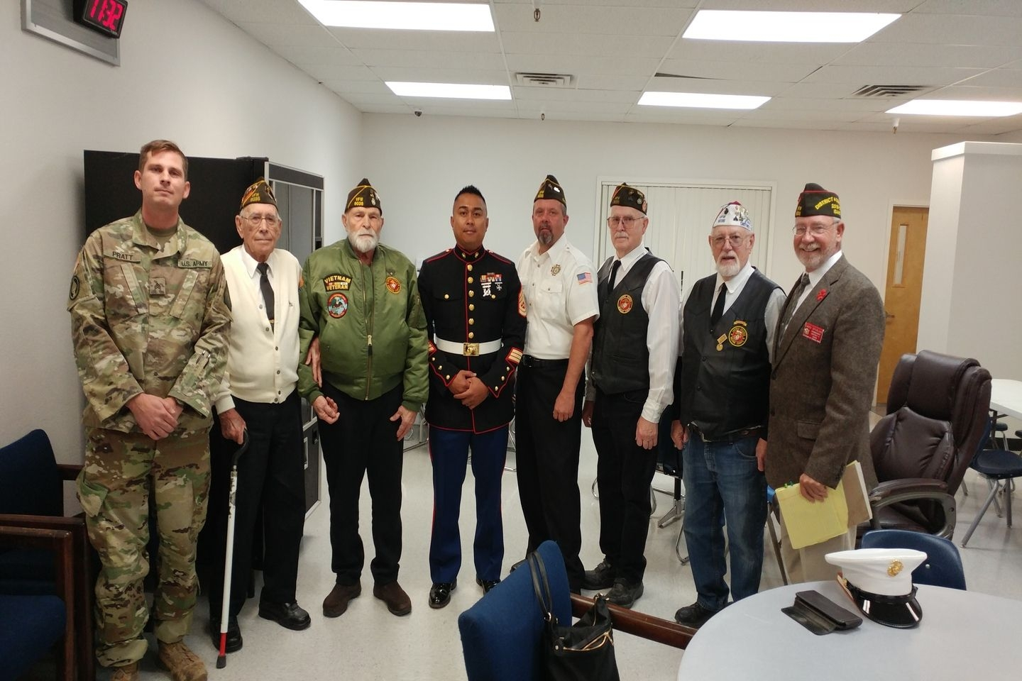 Veterans Day NPHS Ceremony